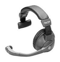 ClearCom Single & Double Muff Headsets