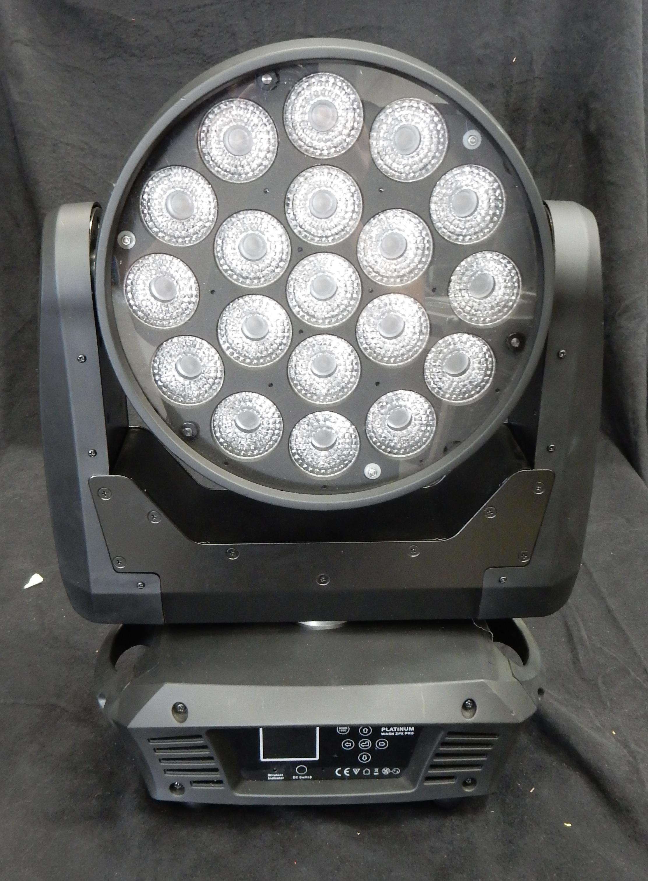 Elation Platinum Wash ZFX Moving LED- 14 Available